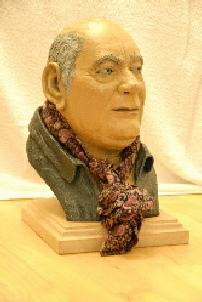 Portrait Bust by Donnas Peterson